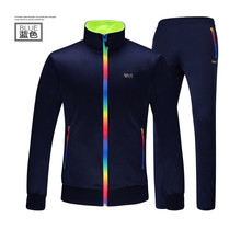 Actionclub Couple Sport Suit For Momen Hoody Pants Two Pieces Outdoor Jogger Suit Slim Printed Running Sets Ropa Mujer 2016 New