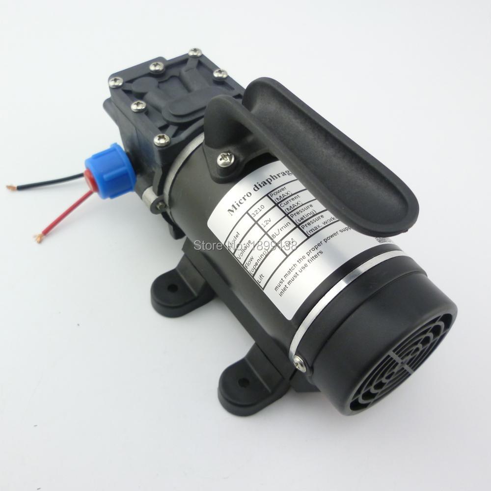 FleißIg Nuotrilin 100 W 8lpm Kleine Elektrische Membran Hohe Druck Selbstansaugende Dc 12 V Mini Wasser Pumpe Mit Buit Pumpen In Fan