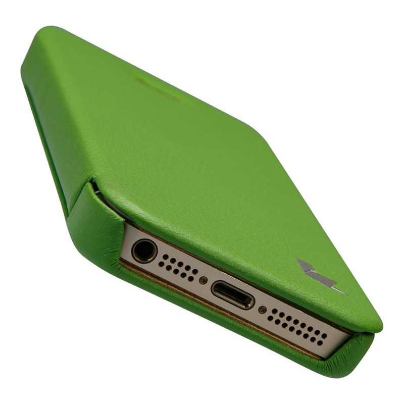 Jison ケース iphone SE 5 s 5 ケース Pu レザーキャパフリップ電話ケース iphone 5 s 5 カバー Couro 高級ブランドアンチノックブックスタイル