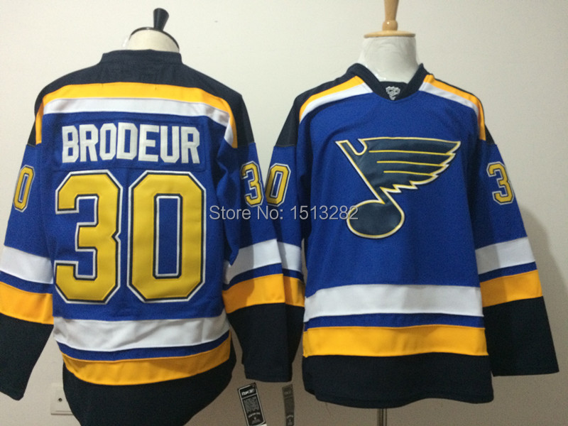on sale 6cced 973a4 Martin Brodeur Jersey Men's 2015 St. Louis Blues jersey ...