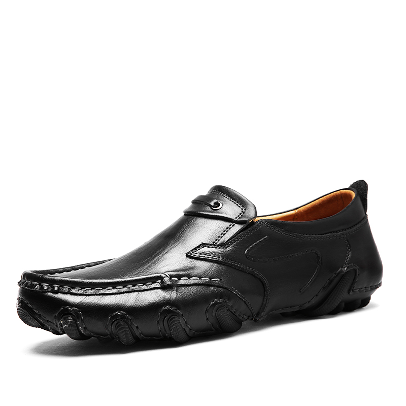 Mens Penny Loafers Driving Shoes For Men Moccasins Summer Spring Leather Shoes Flat Comfortable Casual Shoes Handmade Footwear
