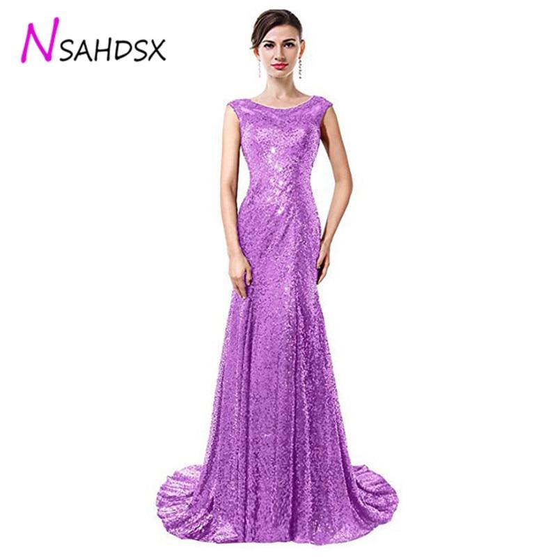 2019 드레스 연회 저녁 저녁 드레스 긴 단락 장식 조각 여성 우아한 호스트 o 목 황혼 순간 파티 인어 드레스-에서드레스부터 여성 의류 의  그룹 1