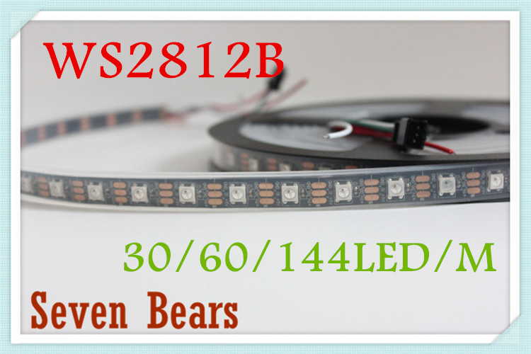Tiras de Led m ws2812b led smart pixel Modelo Número : Ws2812b Led Strip