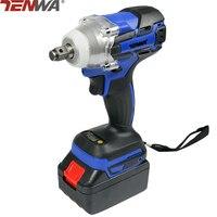 TENWA 2 Lithium Batteries Eletric Cordless Wrench 21V 4500mAh Brushless Power Tool 320N M Max Torque