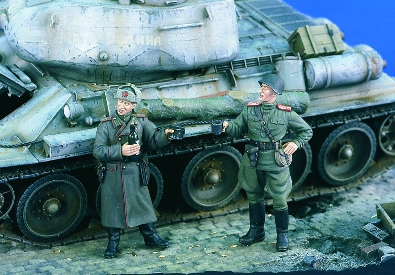 1:35 Soviet Officers WWII