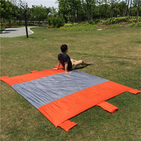 210x270cm Camping Mat Waterproof Nylon Outdoor Camping Mat For Picnic BBQ Ultralight Foldable Portable Sand Free Mat