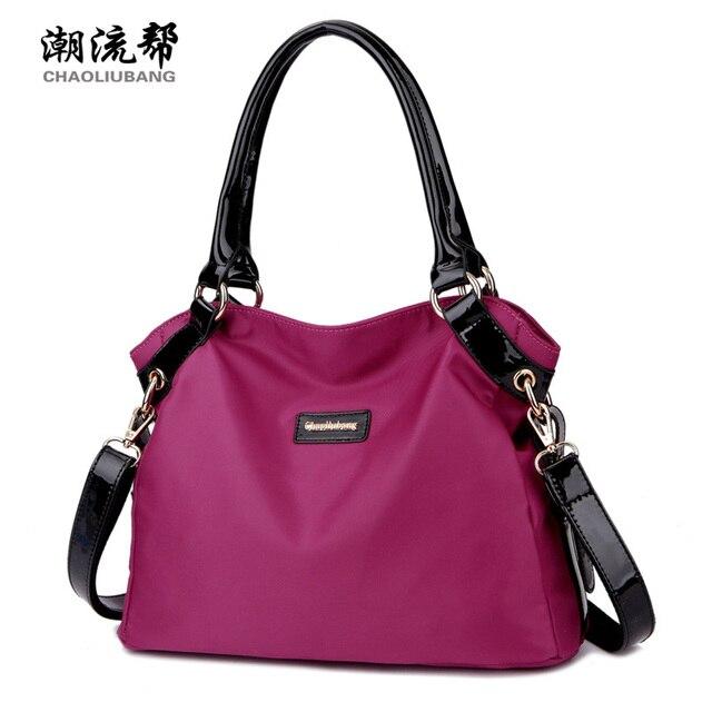black nylon crossbody bag small travel tote shoulder bags work women s  handbag women shopper bag fashion b60b9c741b41e