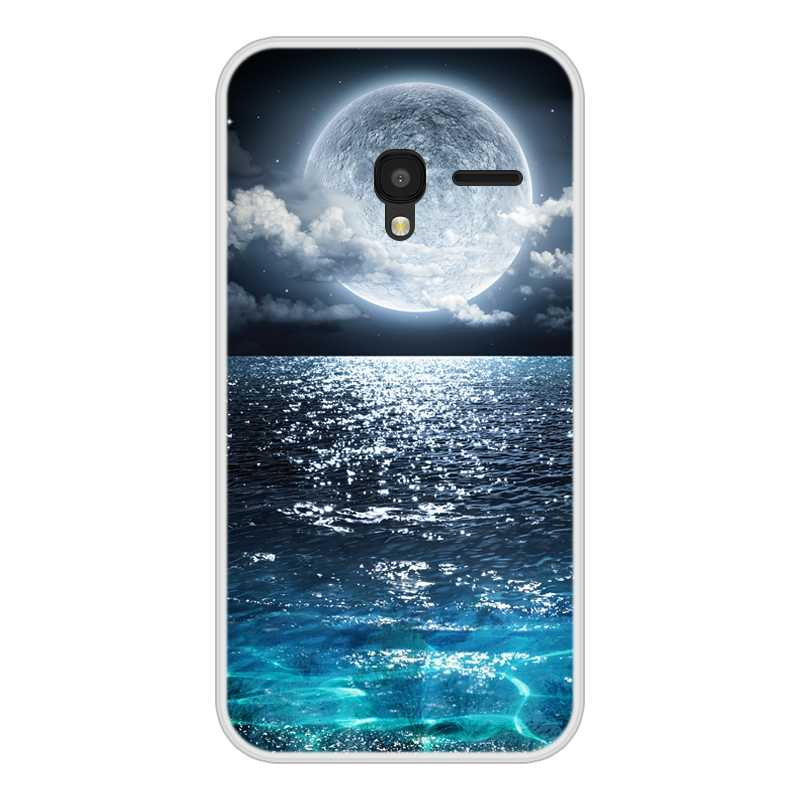 غلاف هاتف ألكاتيل بيكسي 3 (4.5) لينة سيليكون TPU بارد نمط اللوحة غطاء الهاتف ل الكاتيل بيكسي 3 4.5 حالة غطاء