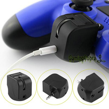 Headphone Adapter For PlayStation 4 Controller PS4 Joystick Accessory 3.5MM Jack