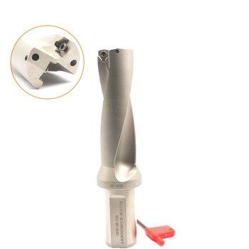 WC indexa insert Drills 14mm 15mm 16mm 20mm 30mm C25 C32 CNC Indexable U Drill 2D Power Drilling Bit for Metal Tool varmann ntherm 370x150x800 n 370 150 800 rr u c32