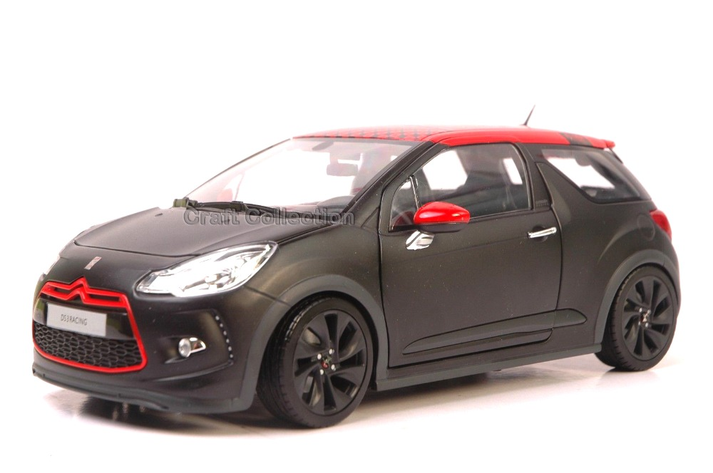 * Red 1/18 Citroen DS3 2016 Alloy Racing Car New Coming Modell Auto Simulation Model Diecast Mini Vehicle DS 3
