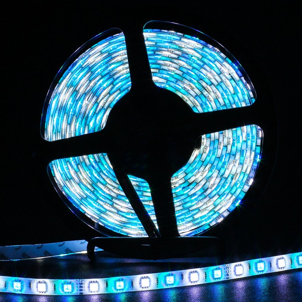 Impartial 5m Rgbw 5050 Led Strip Light Waterproof Ip65 Dc12v Smd 60leds/m 300 Leds Flexible Light Strips Rgb In White Light Free Shipping Superior Quality