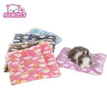 Маленькая морская свинка, хомяк-кровать для дома, зимняя теплая белка, ежик, кролик, Шиншилла, коврик для дома, гнездо для хомяка, аксессуары