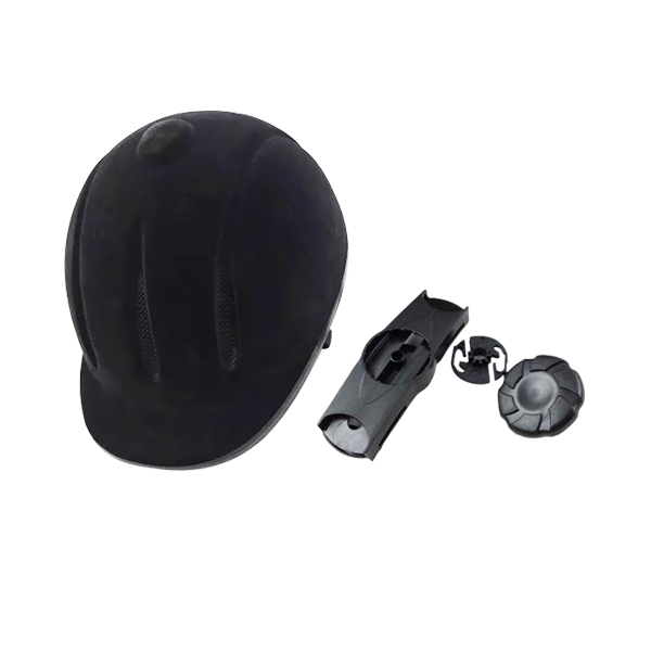 2018 Equestrian head sports gear hat popular and safety horse riding helmet black on unique sales farmer helmet 1