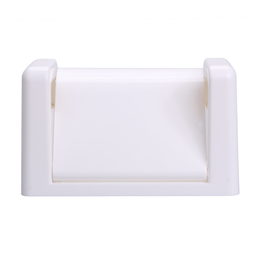 Hot Sale Toilet Paper Holder Hotel Paper Wall-hanging Plastic Organization Kitchen Bathroom Towel Holder White