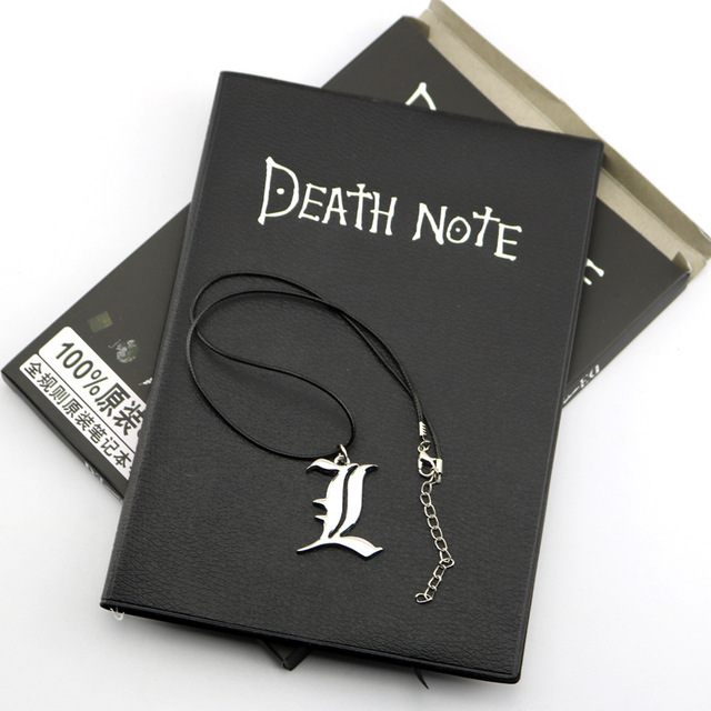 Death Note + Necklace book Set in English