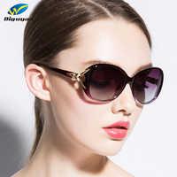 DIGUYAO 2019 luxe oculos vintage ovale lunettes de soleil femmes élégant lunettes de mode femme nuances lunettes de soleil oculos feminino
