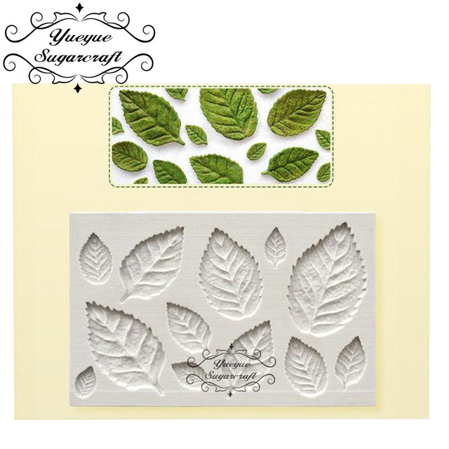 Leaf Silicone Mold Fondant Mold Cake Decorating Tools