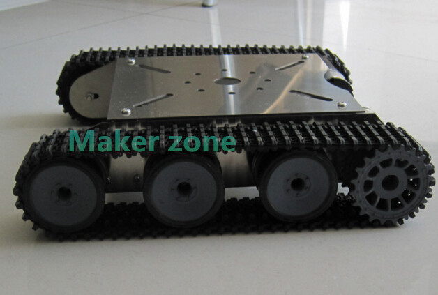 Tank OX, Robot Tank chassis, robotic contest Stainless, steel car mobile, robot platform for DIY