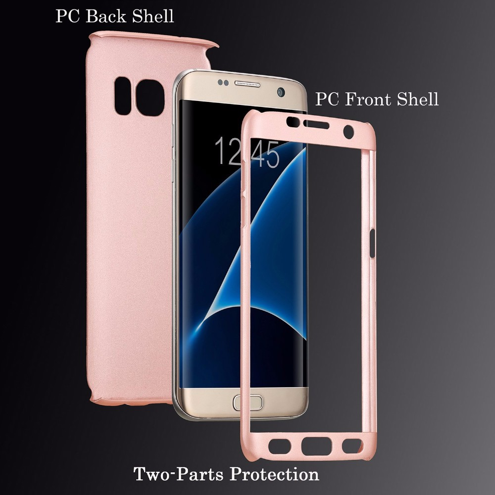 brand new 9386b 3914f US $4.98 |360 Degree Protection Full Body Protective Case For Samsung  Galaxy Note 8 S8+ S8 Plus S7 Edge S6 Phone Bags Hard PC Cover Cases-in  Fitted ...