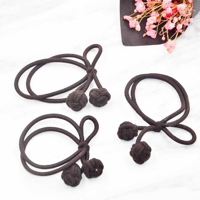 3pcs lot Fancyin Hair Accessories For Women High Quailty Elastic Hair  Rubber Bands Girls Cute 63f55251638