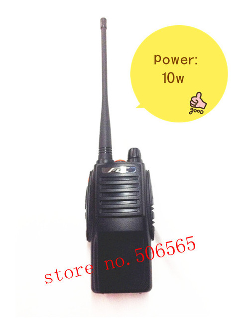 Original FD-850PLUS UHF 400-470mhz  10W professiona FM Transceiver walkie talkie