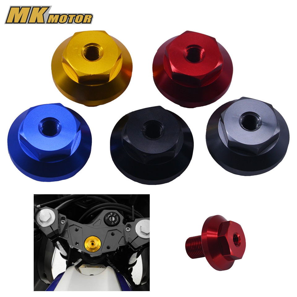 BYSPRINT new motorcycle accessories cnc Engine triple clamp Oil Filler Cap Plug Bolt Screw For YAMAHA YZF R3 MT-03 2015 2016 motorcycle m20 2 5 red engine oil filler cap cnc filler cover screw for yamaha t max530 12 15 t max500 08 11 mt 09 fz 09 13 15