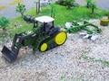 1:28 rc remolque agrícola Multifuncional Grande camión Tractor Rc Coche de Juguete Excavadora de Control Remoto Excavadora Eléctrica