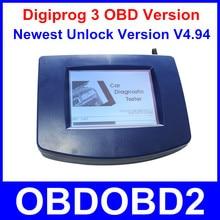 Narzędzie Digiprog III Digiprog 3 OBD Wersja Przebieg Korekta Jednostki Głównej TYLKO Digiprog3 Przebieg Programmer OBD2 ST01 ST04 Kabel