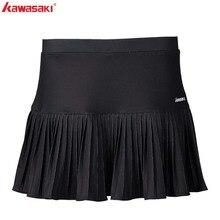 купить Kawasaki Polyester Tennis Sports Skirt Women Skirts Shorts Sports Netball Skirt for Badminton Running Tennis Skort SK-S2752 недорого