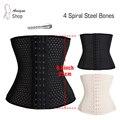 Mulheres Pós-parto Cueca Corretiva Shapewar Quente Modelagem Cinturão Belly Binder Tummy Shaper Slimming Belt Aço Desossado Fajas