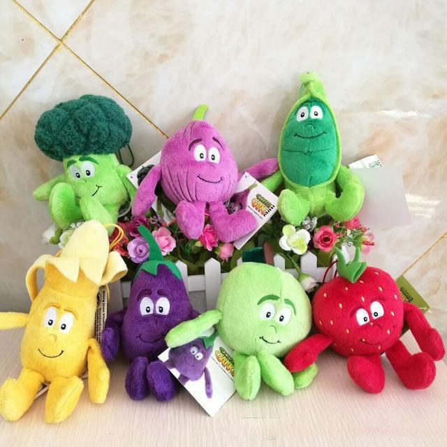 Fruit /& Vegetables Soft Plush Toys Goodness gang Soft Plush Stuffed Pillow Doll