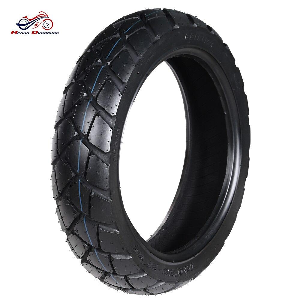Moto pneu roues jante 140/80-17 tous terrains pneus Tubeless meilleur vide arrière moto pneus pour Scooter électrique