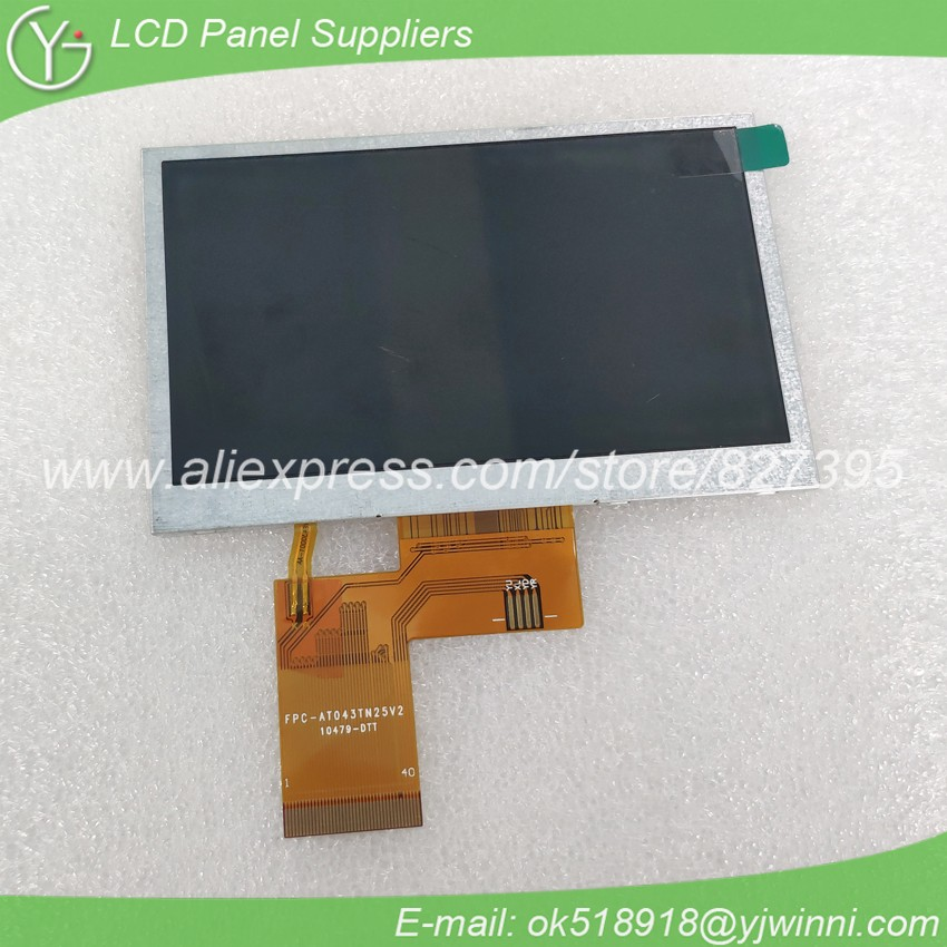 4.3 inch TFT LCD GPS Display Screen AT043TN25 V.2 image