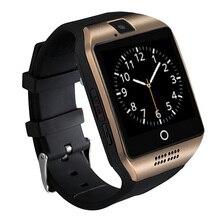 2016 neue Bluetooth Q18 Smart Uhr Wasserdicht Apro Smartwatch Unterstützung NFC Sim-karte 1,3 Mt Kamera Für Iphone Samsung Android telefon