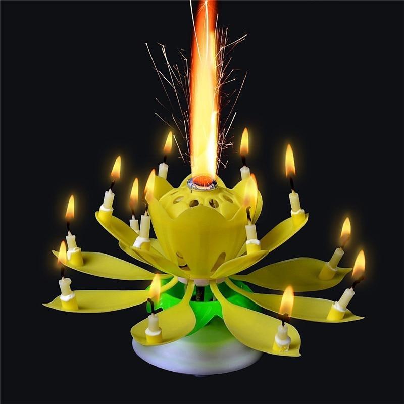 14 ədəd kiçik şam Lotus ilə heyrətləndirici iki - Ev dekoru - Fotoqrafiya 3