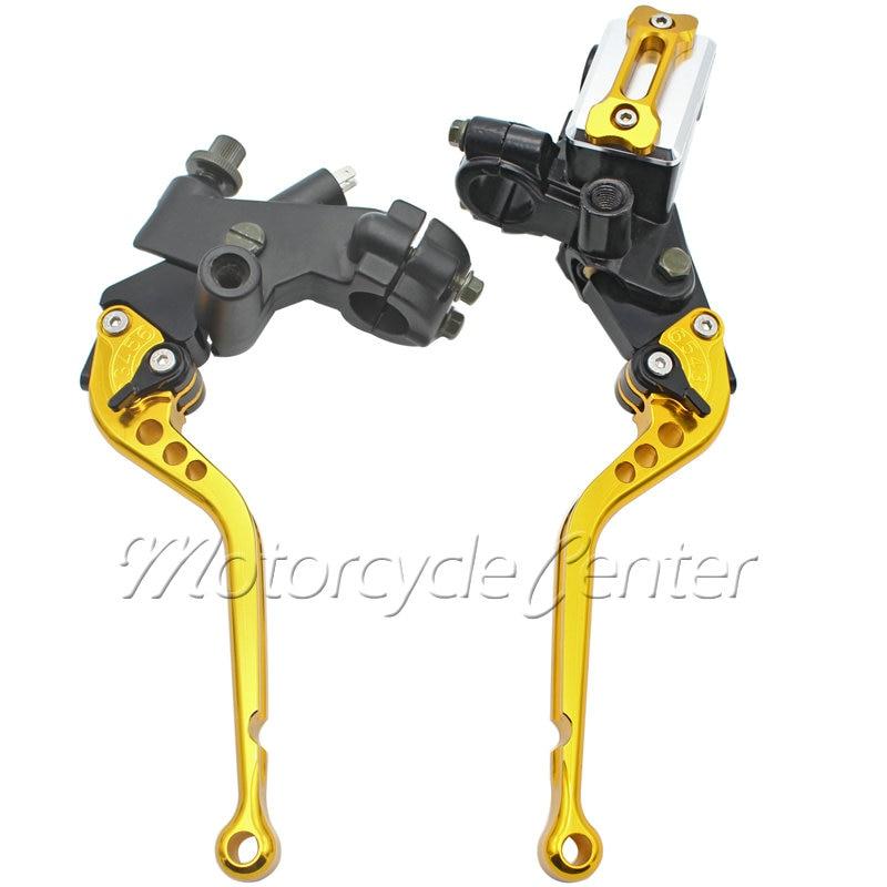 Motorcycle Handlebar 78 22mm Master Cylinder Reservoir Long Brake Clutch Levers For Honda CBR1000RR CBR600RR CBR929RR CBR954RR