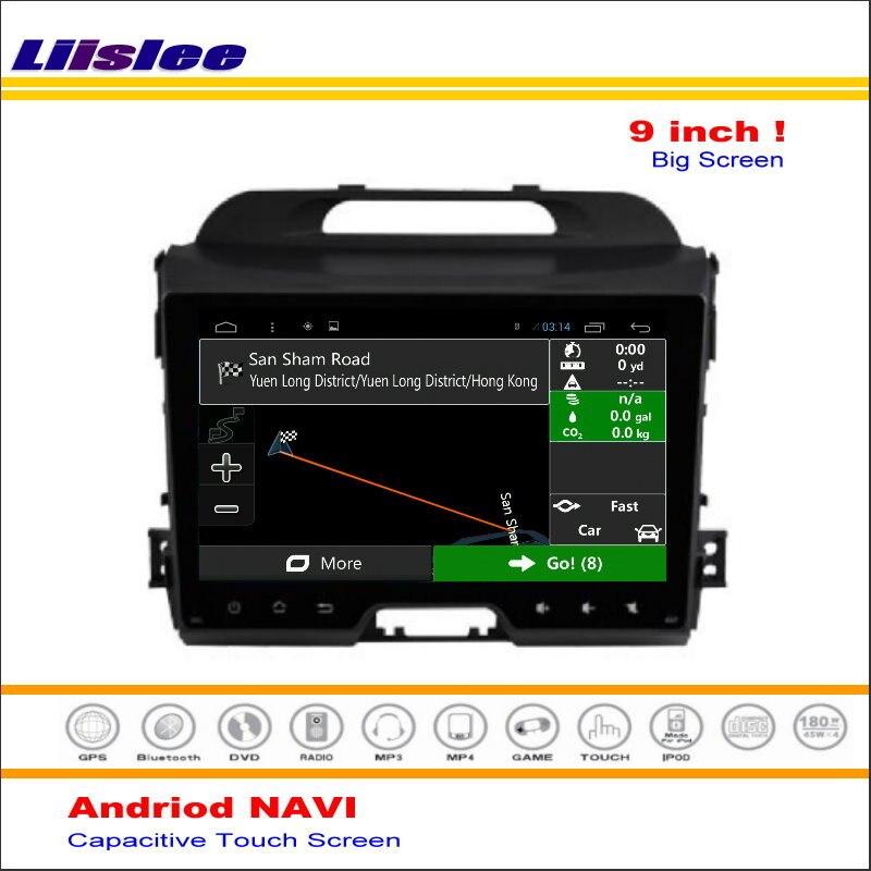Liislee Car Android GPS NAV Navigation System For Kia Sportage R SL 2010 2015 Radio Audio