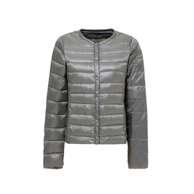 Warm Ultra Light White Duck Down Parkas Jacket