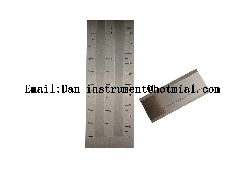 Двойной паз тонкость датчика, grindometer, тонкость метр BGD242/3 (0 100um)