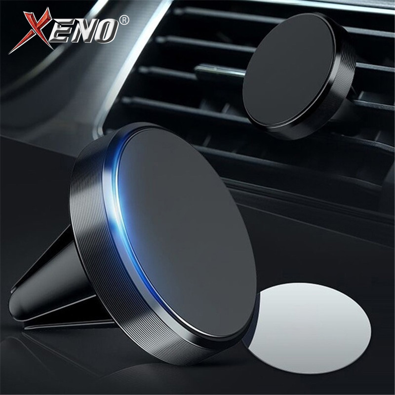 Universal Magnetic Car Phone Holder Stand In Car For IPhone X Samsung Huawei Magnet Air Vent Mount Cell Mobile Phone Support GPS