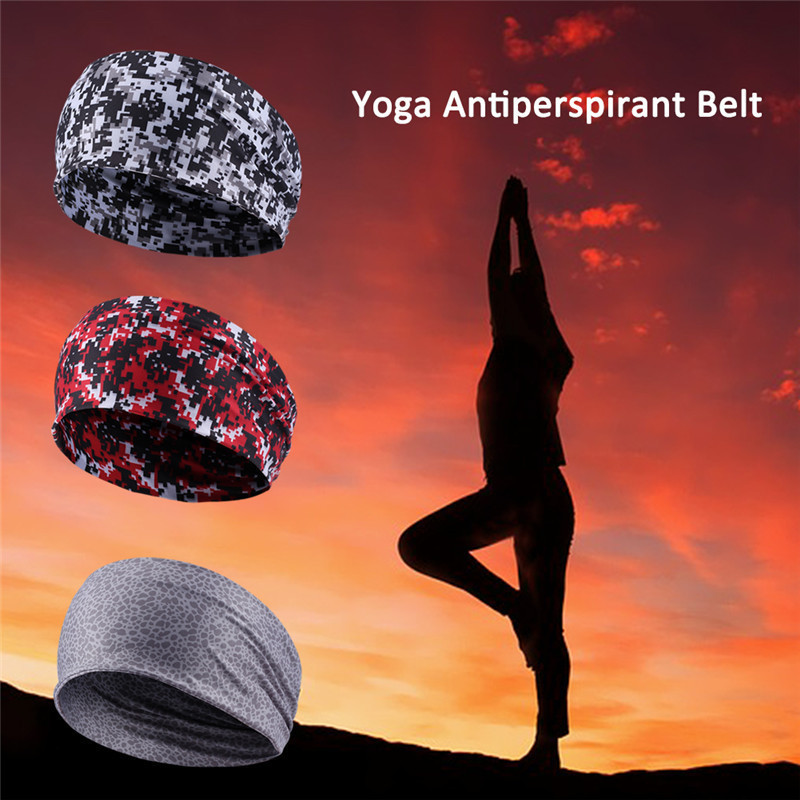 New Wide Sports Headband 2017 Stretch Elastic Yoga Running Headwrap Hair Band High Quality Hair Accessories For Women Men kopoha