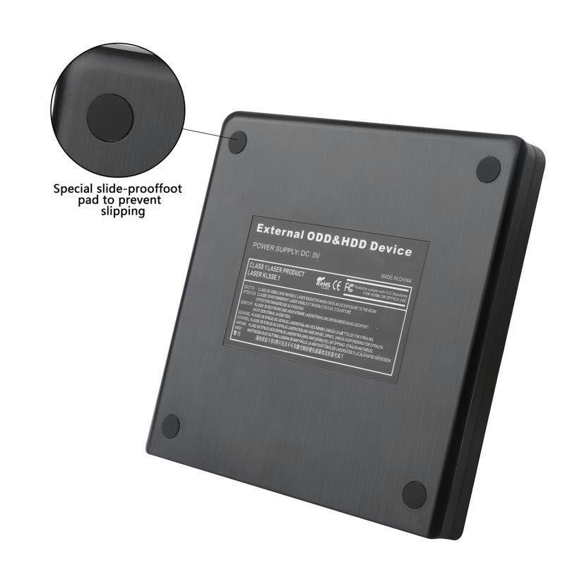 Image 4 - DVD ROM 光学ドライブケース USB 3.0 CD/DVD ROM CD RW プレーヤーポータブル CD24X DVD8X リーダーレコーダーためラップトップコンピュータ -    グループ上の パソコン & オフィス からの 光学ドライブケース の中