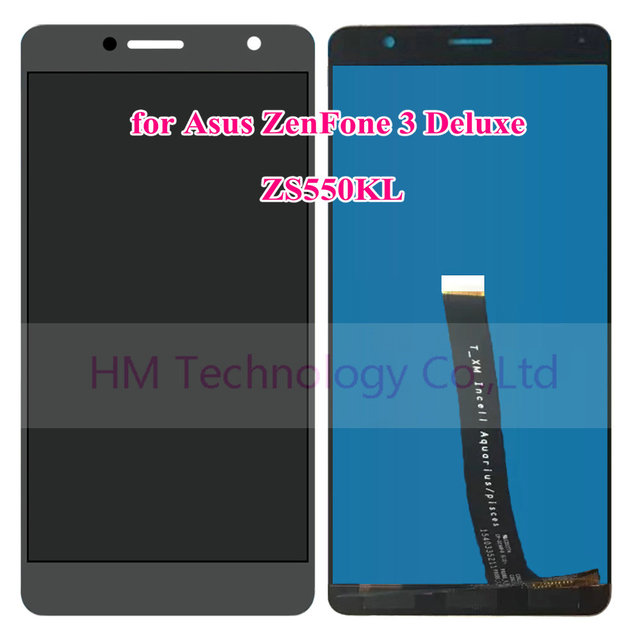 "5.5"" Gray LCD+TP for Asus ZenFone 3 Deluxe ZS550KL LCD Display+Touch Screen Digitizer Assembly Replace Parts Free Shipping+Tools"