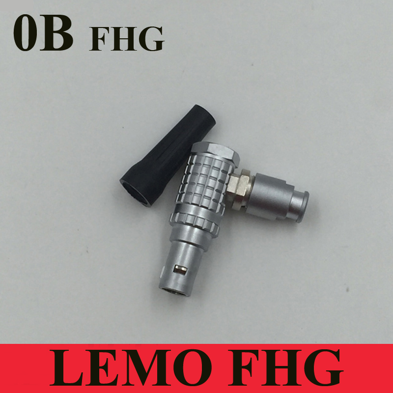 LEMO Connector FHG 0B 2 3 4 5 6 7 9 Pin Connector Right Angle FHG 302 303 304 305 306 307 309 Male Mini Camera Connector Plug
