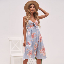 2018 women dress hot ladies print  popular holiday street party beach female womens clothes dresses