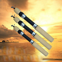 60CM/80CM/100CM Portable Pocket Winter Ice Fishing Fish Rod Mini Tackle Spinning Casting Accessories ASD88