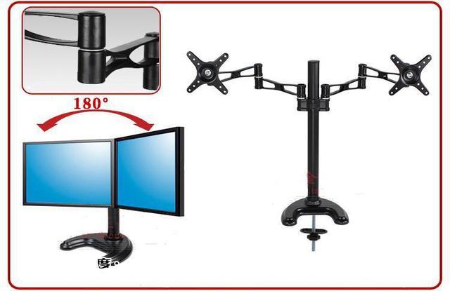 Desktop Computer Monitor Desktop Stand Dual Monitors Bracket 14 26