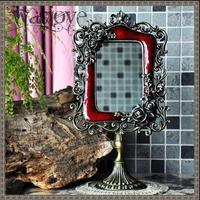European with antique mirror frame vanity mirror for vanity table makeup table decorative mirror for home decoration J024
