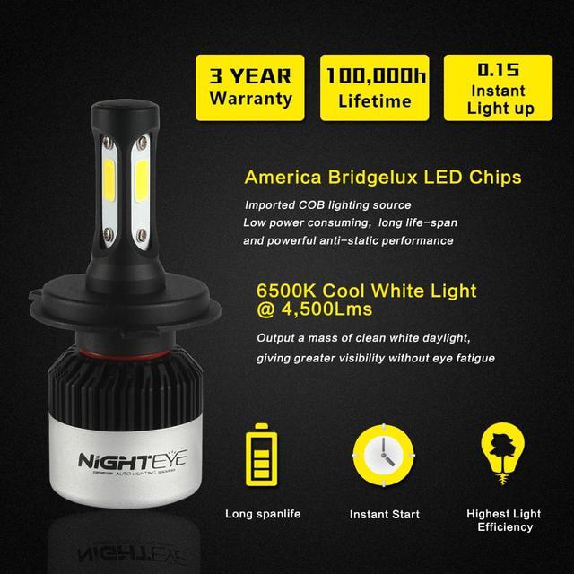 Super Bright Car Headlights Auto Bulb
